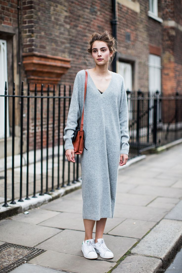 get styled grey dress 2