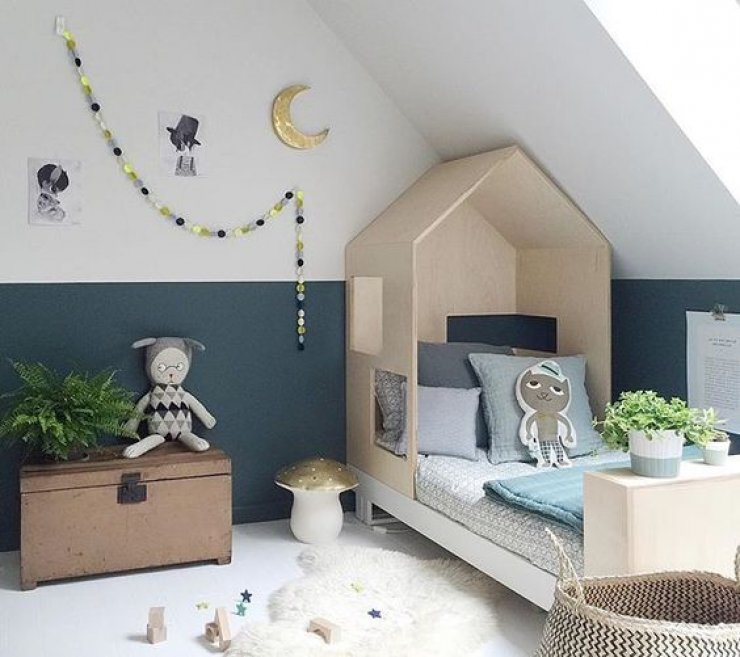 house bed kids mommo